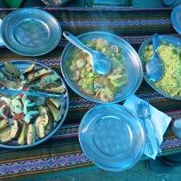 Mittagessen in Huayracmachay