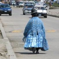 Bolivianische Frau
