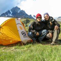 Unser Zelt für die dritte Nacht