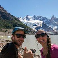 Selfie-Time beim Cerro Torre