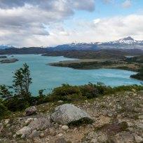 Blick auf den Lago Nordenskjöld