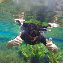 Dani im Aquarium
