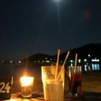 Vollmond Dinner am Strand