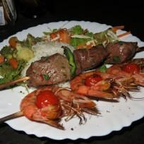 Beef und Krevetten Speiss