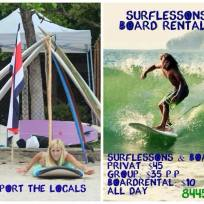 Surfen in Tamarindo