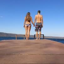 Zeit zu zweit bei der Laguna Apoyo