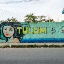 Streetart in Tulum