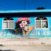 Streetart auf Isla Holbox