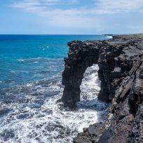 Sea Arch im Volcano Nationalpark