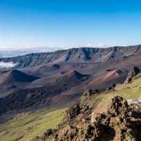 Mondlandschaft im Krater des Haleakala Vulkans