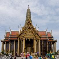 In Bangkok beim Grand Palace
