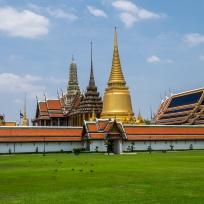 Aussenansicht des Grand Palace in Bangkok