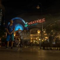 Langzeitaufnahme von Fränzi in Bangkok