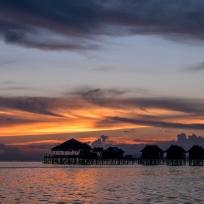 Sonnenuntergang auf Mabul
