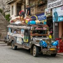 Ein Jeepney in Banaue